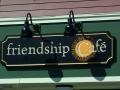 friendship cafe building sign