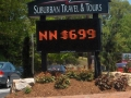 suburban travel digital display signange