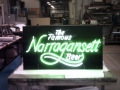 Neon sign for Narragansett