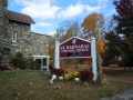 Saint Barnabas Carved Sign