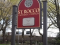 Carved Sign for St/ Roccos