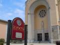 St. Roccos Carved Sign