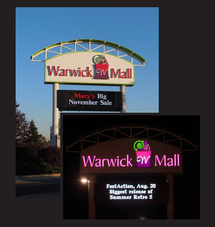 warwick digital display signange