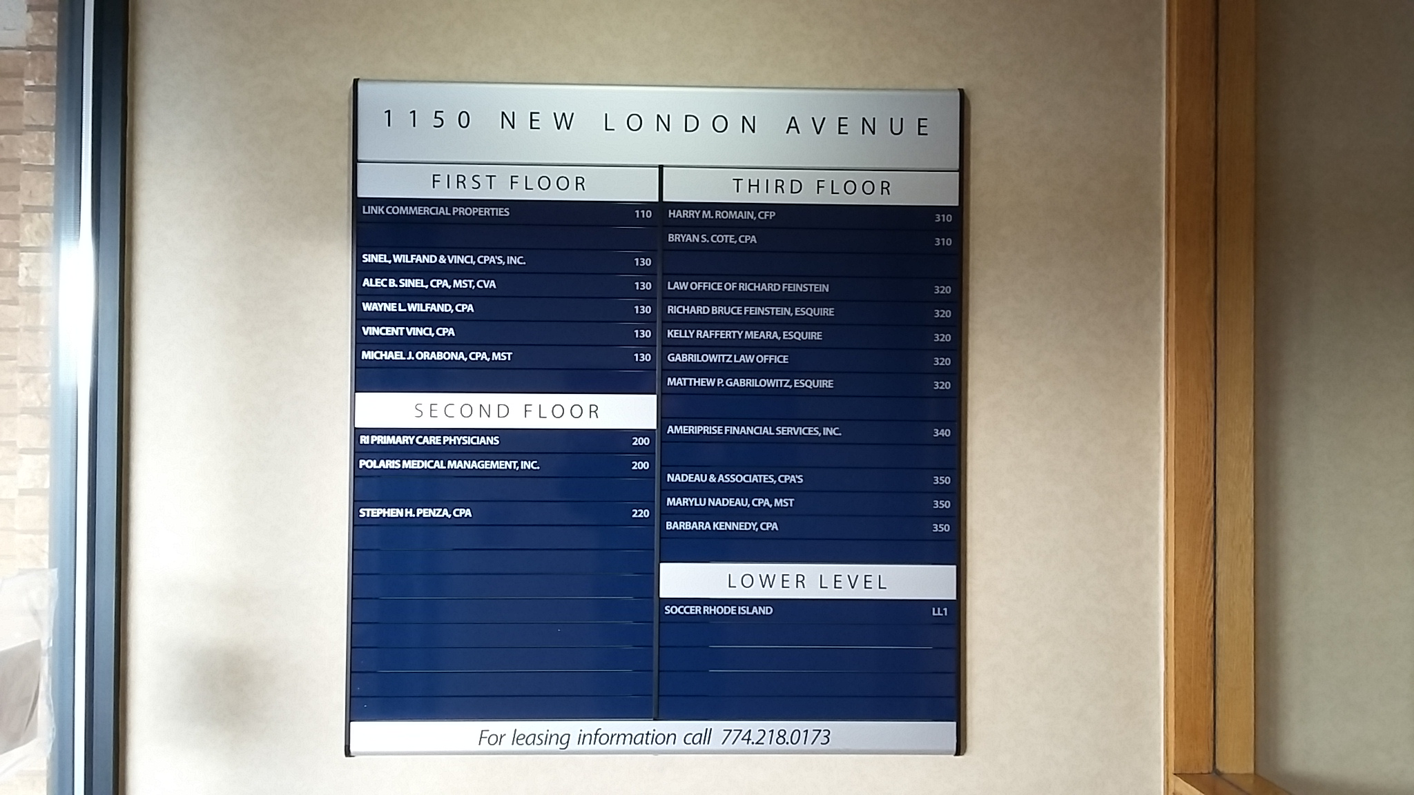 new london directory
