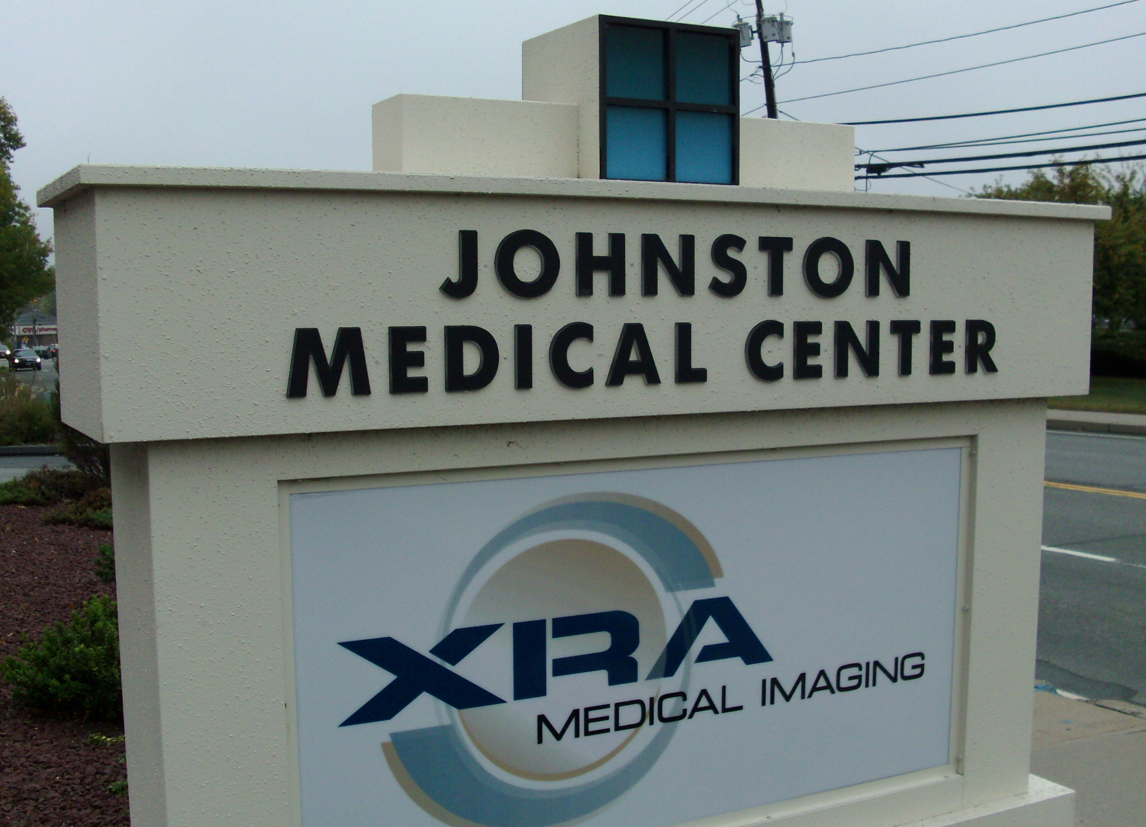 monument sign xra johnston