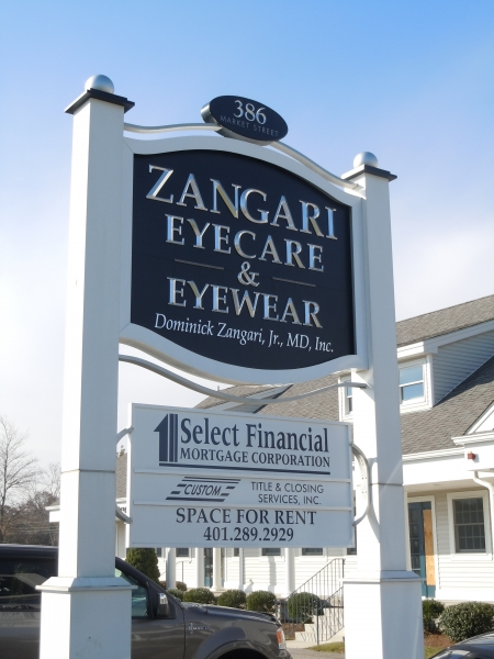 freestanding sign zangary