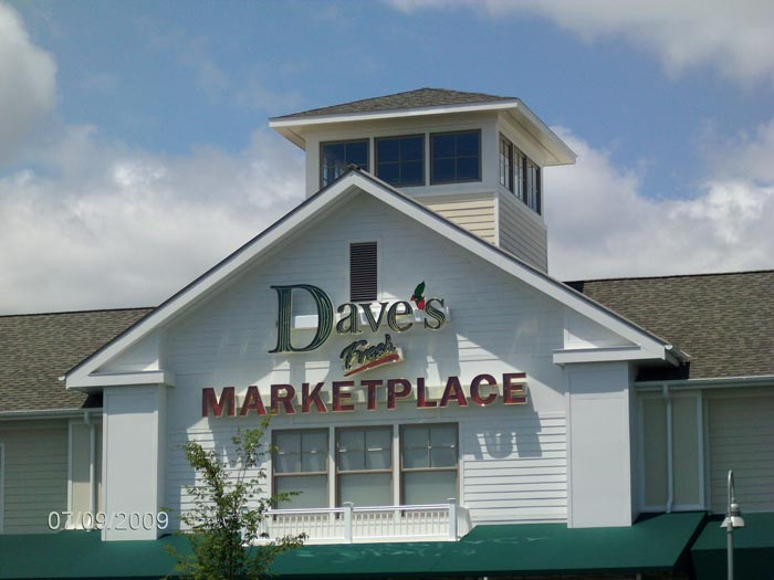 daves channel letter sign