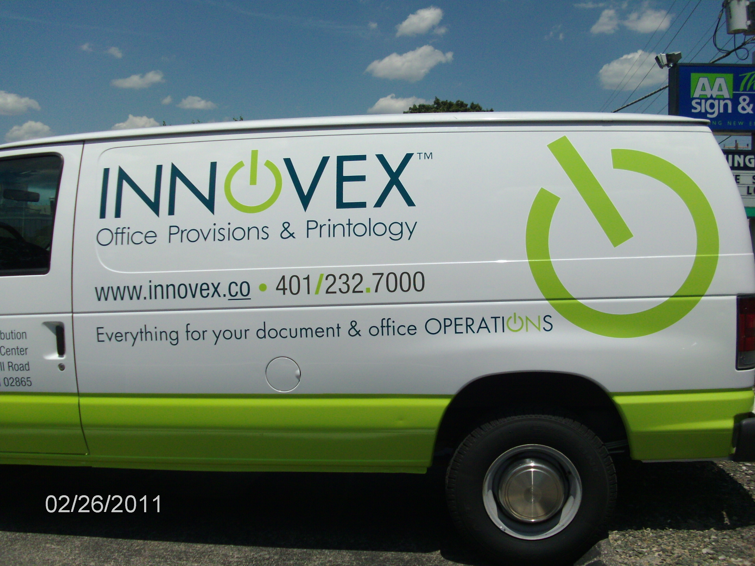 Innovex Vehicle Wrap