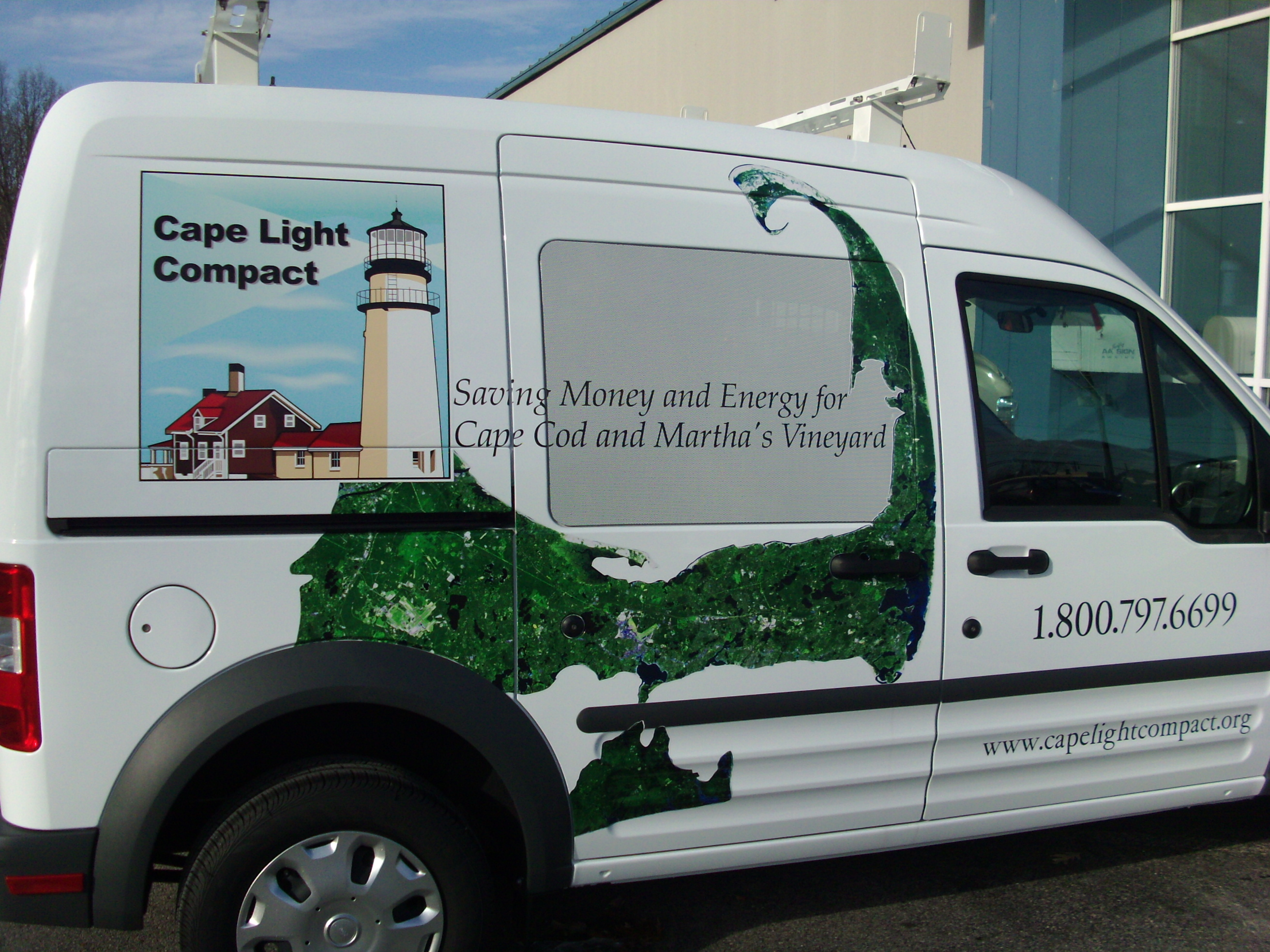 Rise Cape  Vehicle Wrap